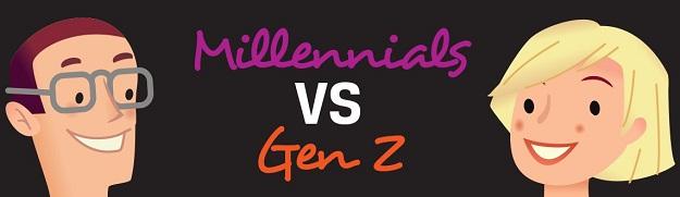 Milenials vs Gen Z