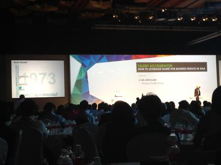 justin Allen Singapore Human Capital Summit 2013